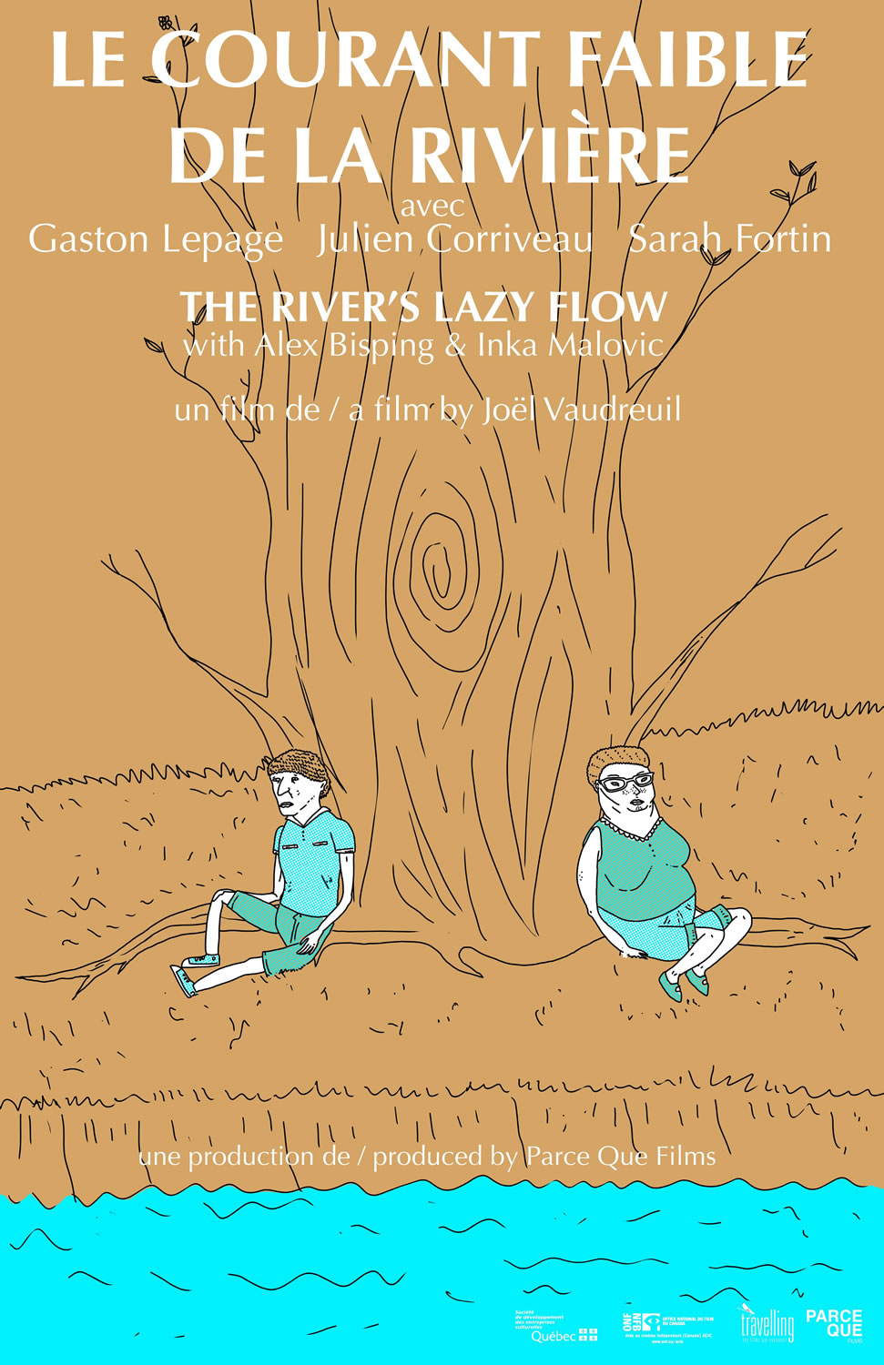 The River's Lazy Flow